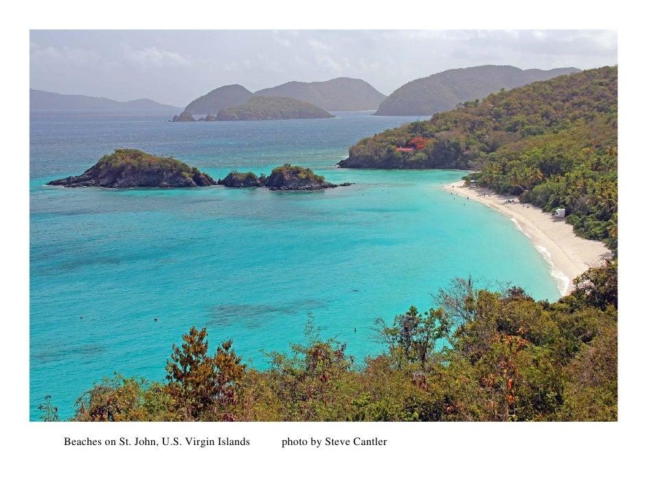 Beaches on St. John, U.S. Virgin Islands   photo by Steve Cantler