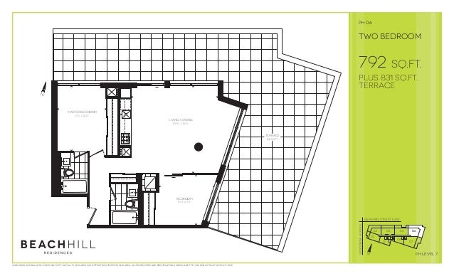 "F dw w d Living | dining 15'10"" x 16'0"" Master bedroom 9'0"" x 12'0"" bedroom 10'2"" x 9'2"" terrace 831 sq.ft. 792 sq.ft. plu..."