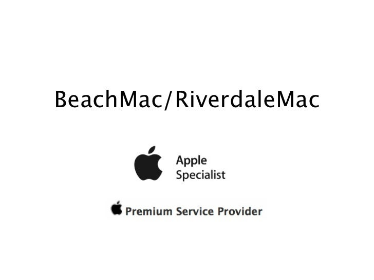 BeachMac/RiverdaleMac