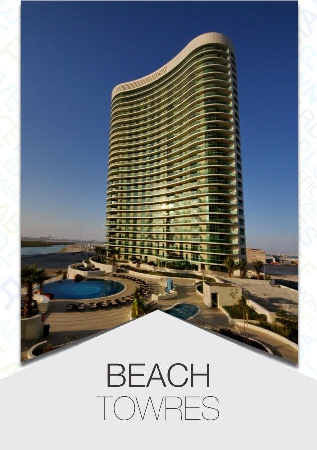 Beach Towers in AL Reem Island - Abu Dhabi