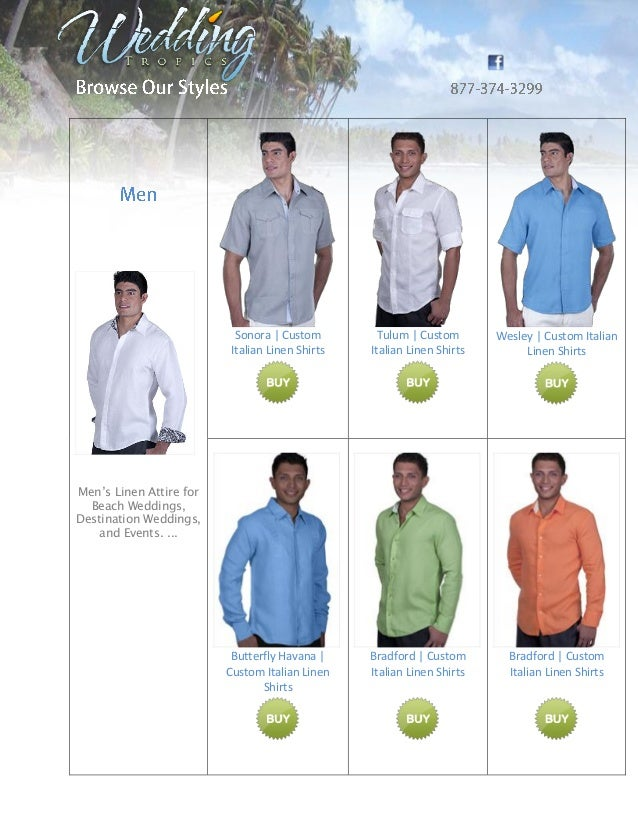 beach wedding attire and dresses for men and women by