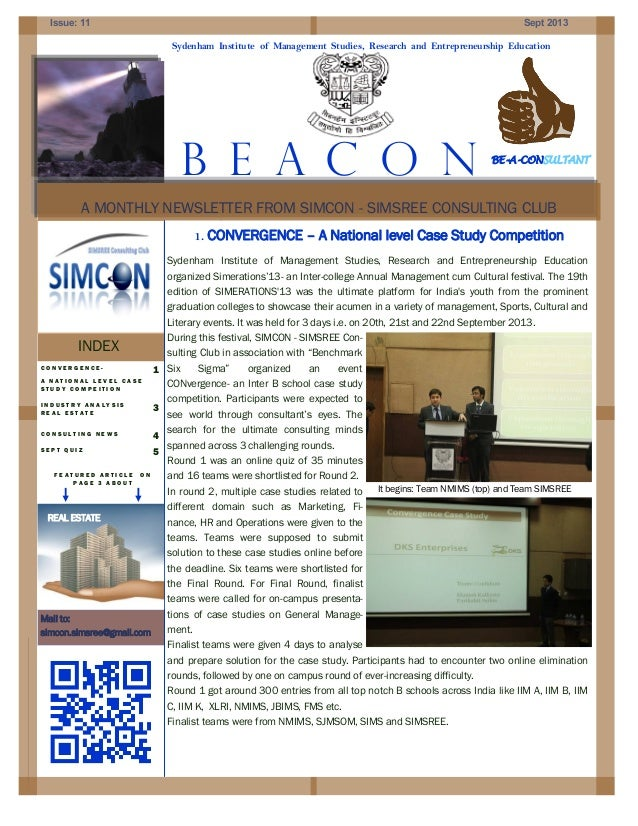 Beacon Newsletter for September 2013 from SIMCON Club
