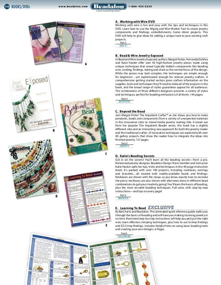 118   Books/DVDs           w w w. be ad alon.com                             ®                                            ...