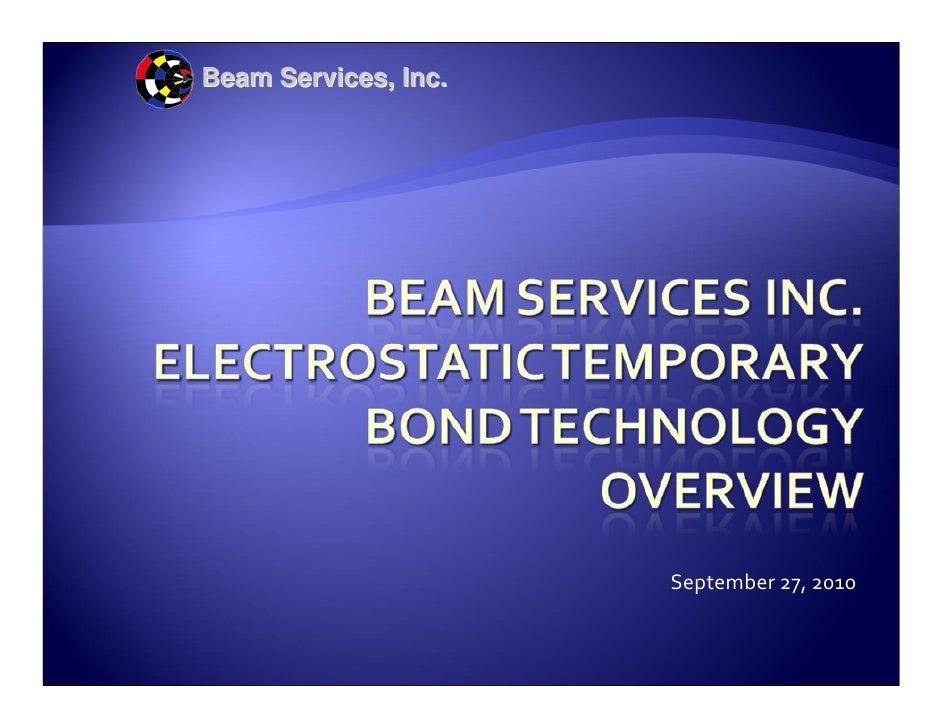 Beam Services, Inc.                           September 27, 2010