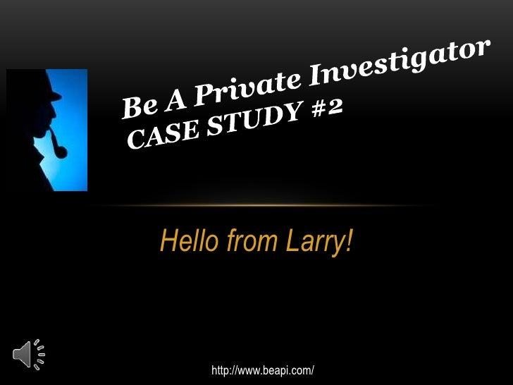 Hello from Larry!    http://www.beapi.com/
