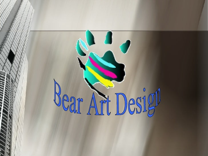 Bear Art Design