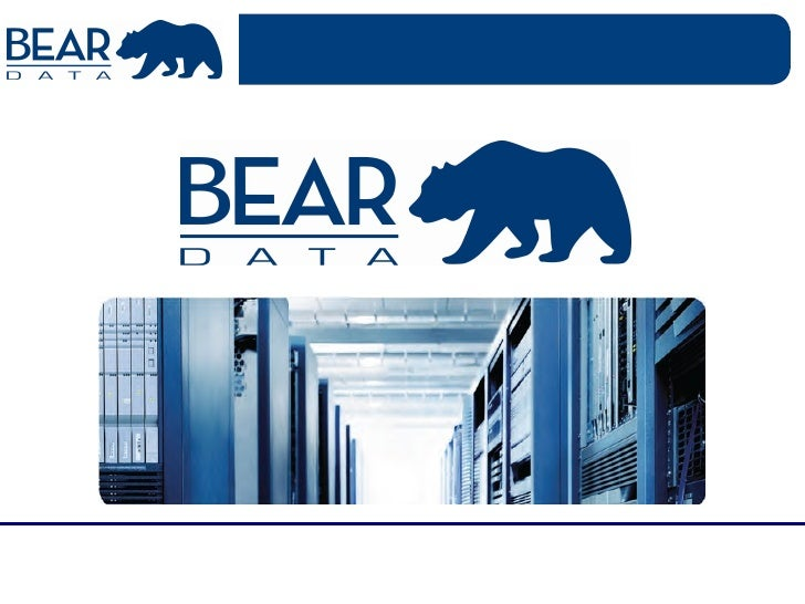 Bear Data Corporate Overview