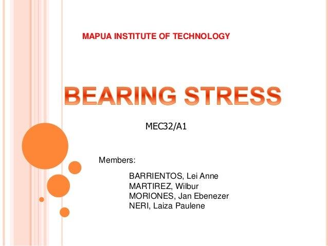 BARRIENTOS, Lei Anne MARTIREZ, Wilbur MORIONES, Jan Ebenezer NERI, Laiza Paulene MAPUA INSTITUTE OF TECHNOLOGY MEC32/A1 Me...