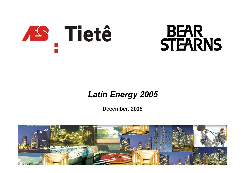 Latin Energy 2005    December, 2005                         1
