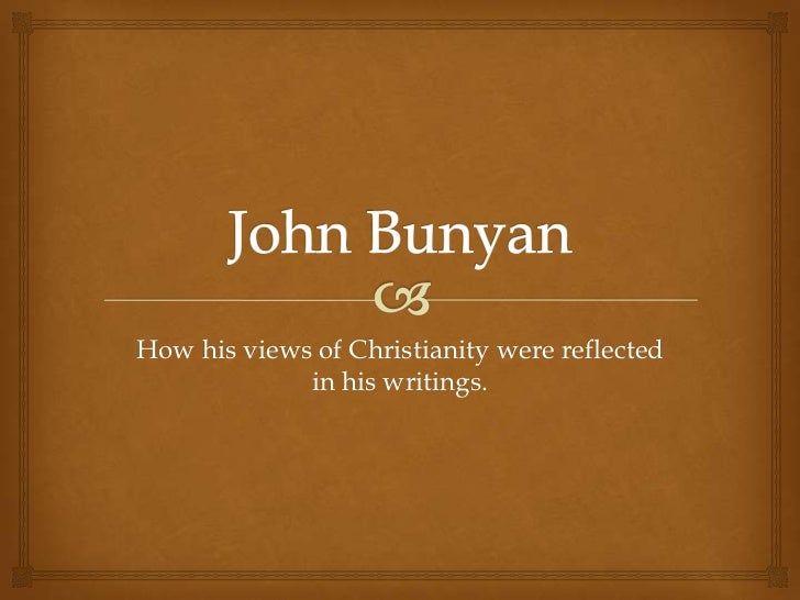 How his views of Christianity were reflected             in his writings.
