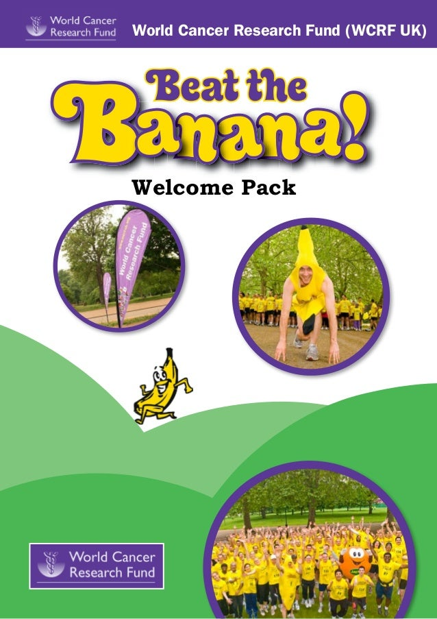 Beat the Banana! September 2013 welcome pack