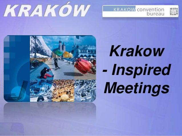 Krakow- InspiredMeetings