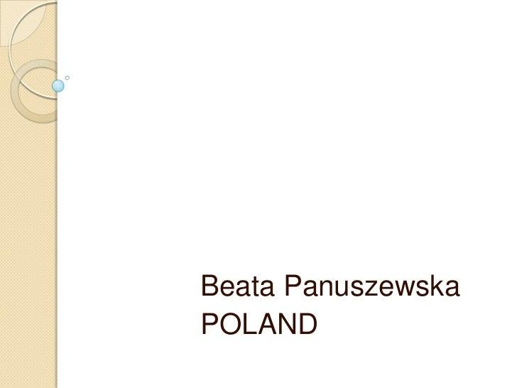 Beata panuszewska