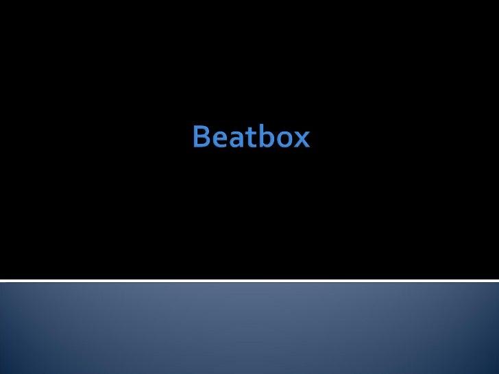 Beatbox - AlvaroCa