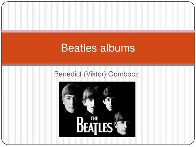 Benedict (Viktor) Gombocz Beatles albums