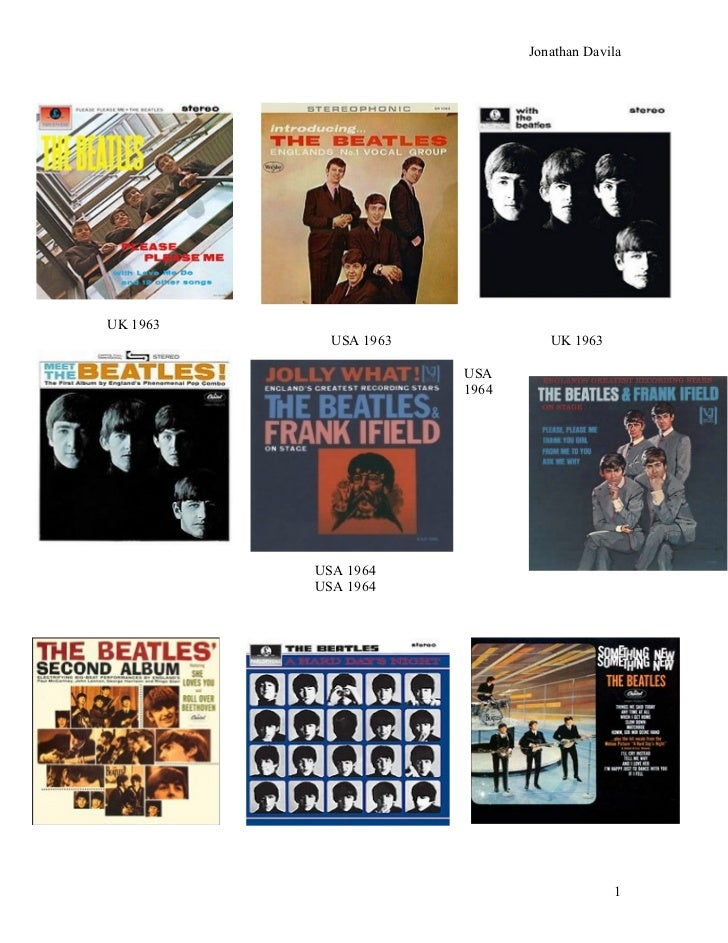 Beatles Discography 1963-1966