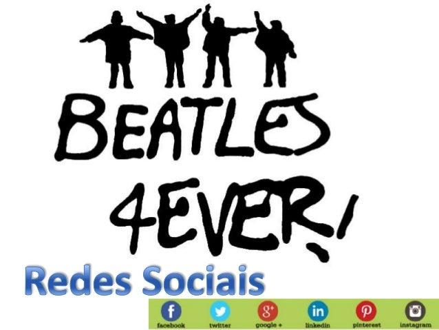 Beatles redes sociais