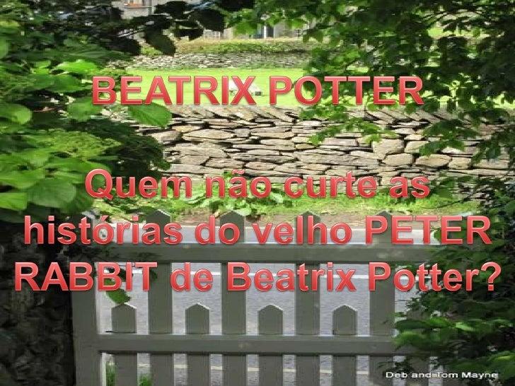 Beatrix Potter(Peter Rabbit)