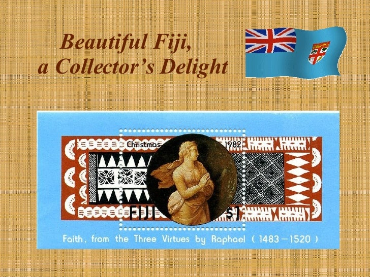 Beautiful Fiji,  a Collector's Delight