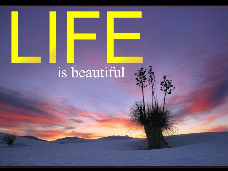 is beautiful