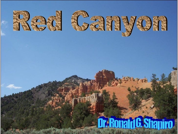 Beautiful Red Canyon