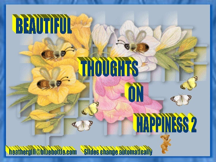 Beautiful Thoughts On Happiness 02