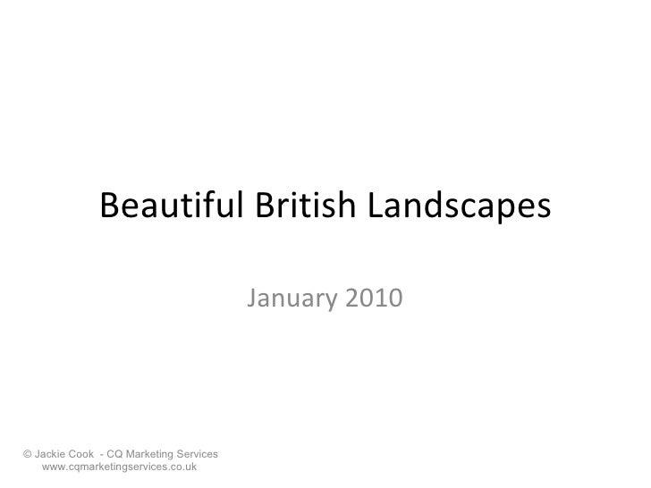 Beautiful British Landscapes January 2010
