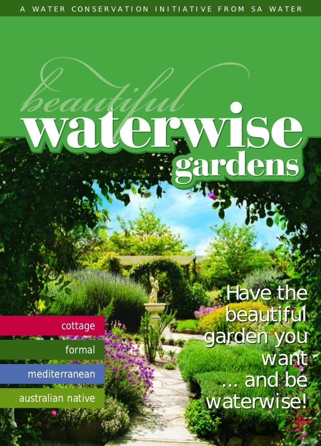 Beautiful Waterwise Gardens - Southern Australia