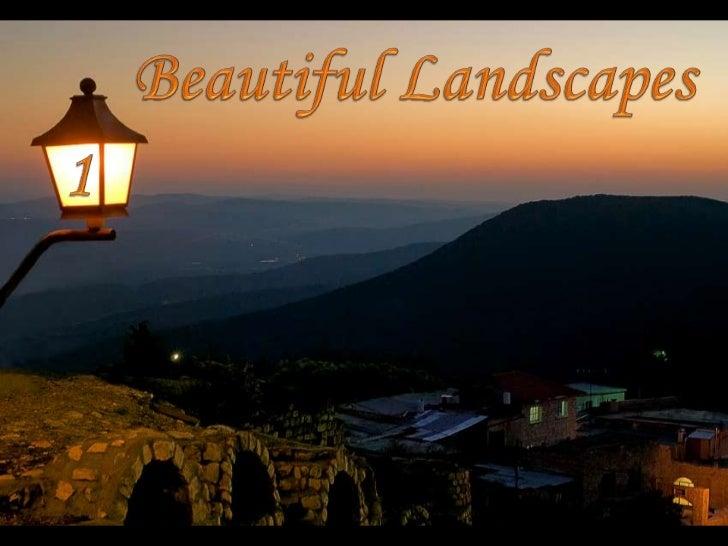 Beautiful Landscapes<br />1<br />