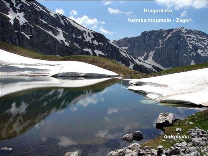 Dragonlake Astraka mountain - Zagori . Automatic