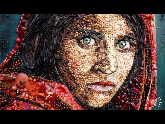 Beautiful Recycling Art by Jane Perkins