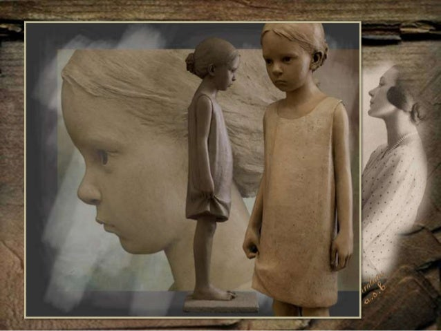 Beautiful Sculptures by Berit Hildre (1964)