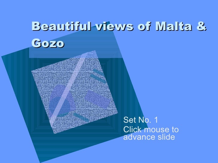 Beautiful Views Of Malta & Gozo