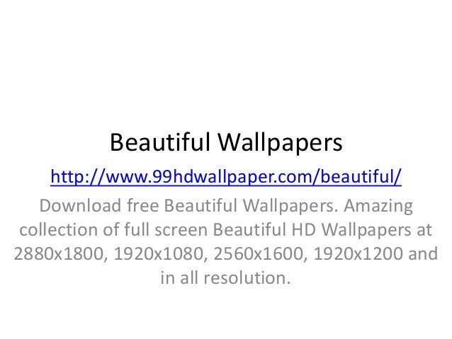 Beautiful Wallpapers