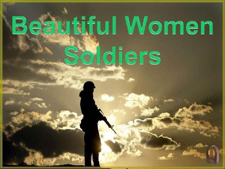 Beautiful Women Soldiers (V M )