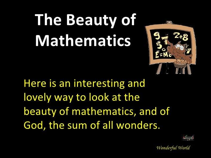 Beauty of-mathematics