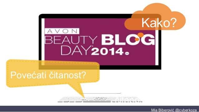 Kako povećati čitanost bloga? Beauty Blog Day 2014