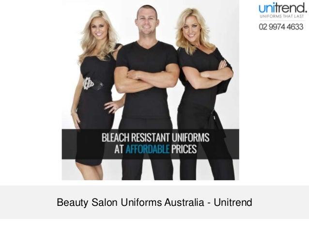 Beauty salon uniforms australia unitrend for Spa uniform singapore