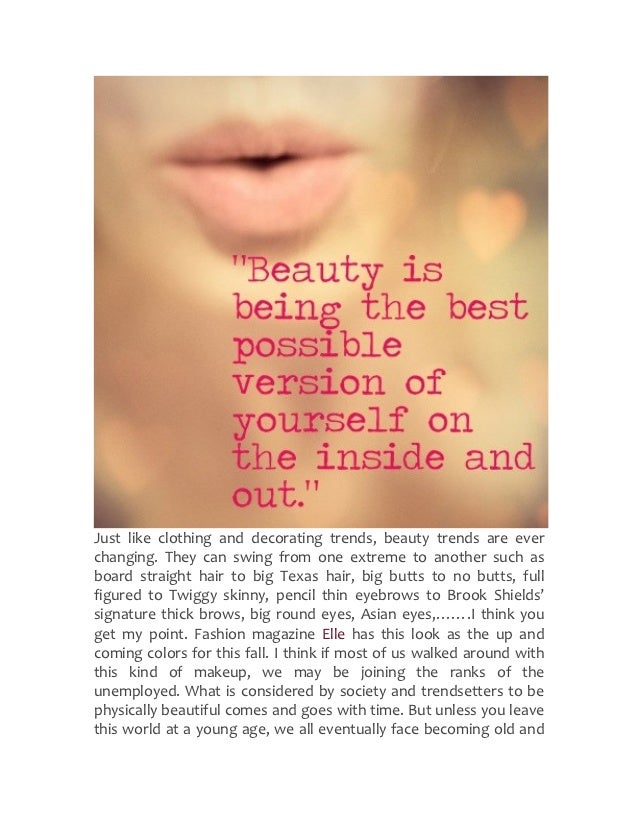 Just  like  clothing  and  decorating  trends,  beauty  trends  are  ever changing.  They  can ...