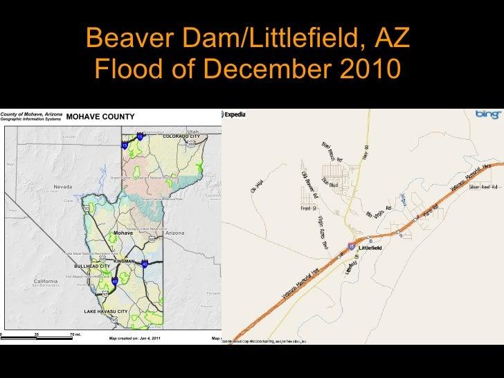 Beaver Dam/Littlefield, AZ Flood of December 2010
