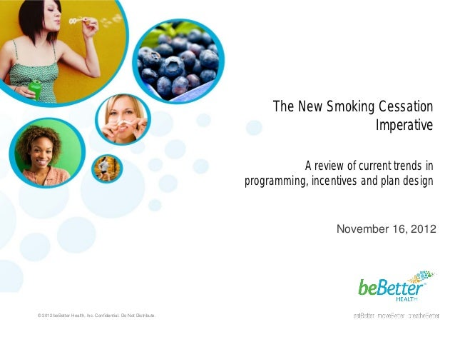 The New Smoking Cessation Imperative