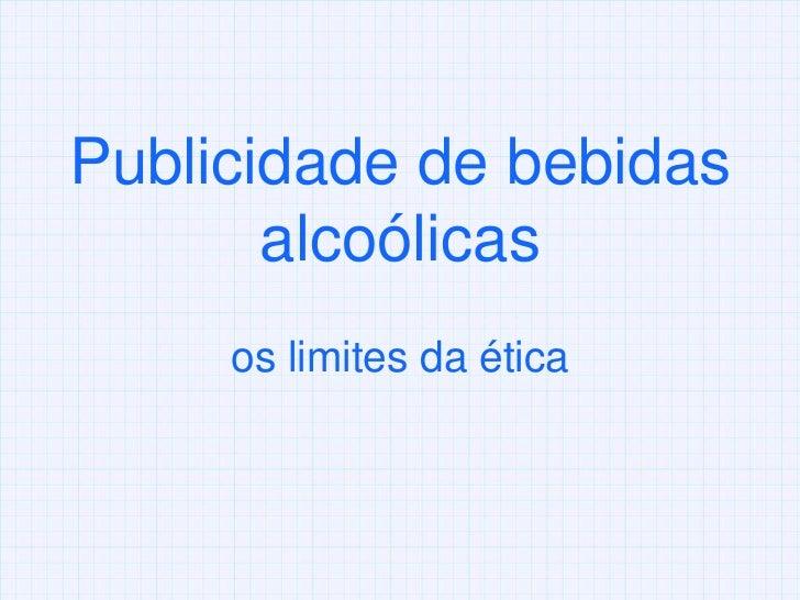 Bebida alcoolica