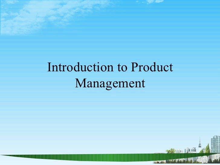 Bec doms ppton introduction to product management
