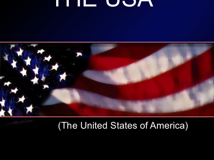 THE USA (The United States of America)