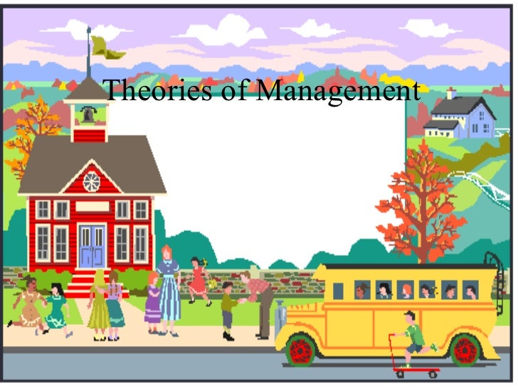 Bec doms ppt on theories of management