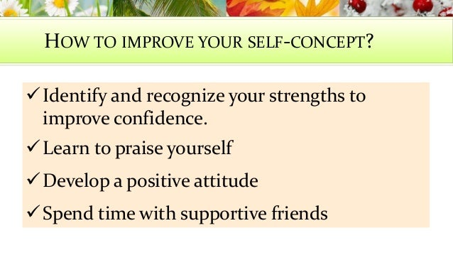 How is the self concept developed?!?