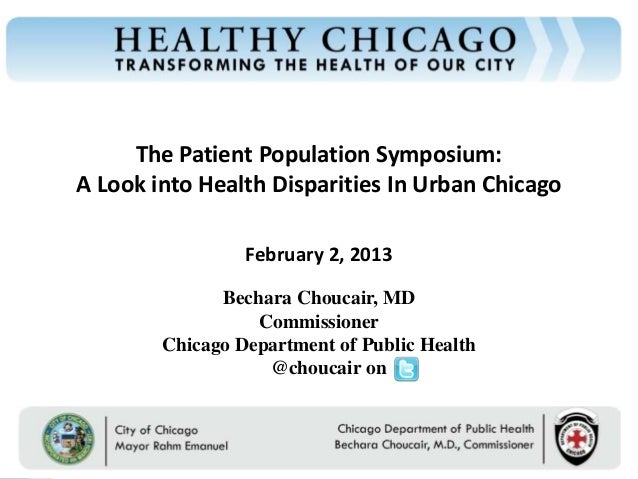 Healthy Chicago & A Look into Health Disparities in Urban Chicago