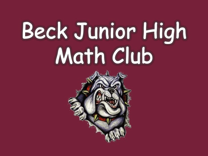 Beckmathclub