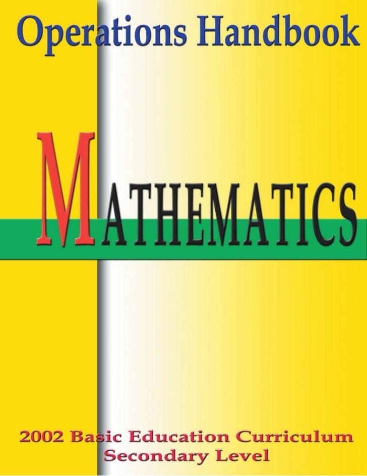 Bec Mathematics, PSSLC Mathematics