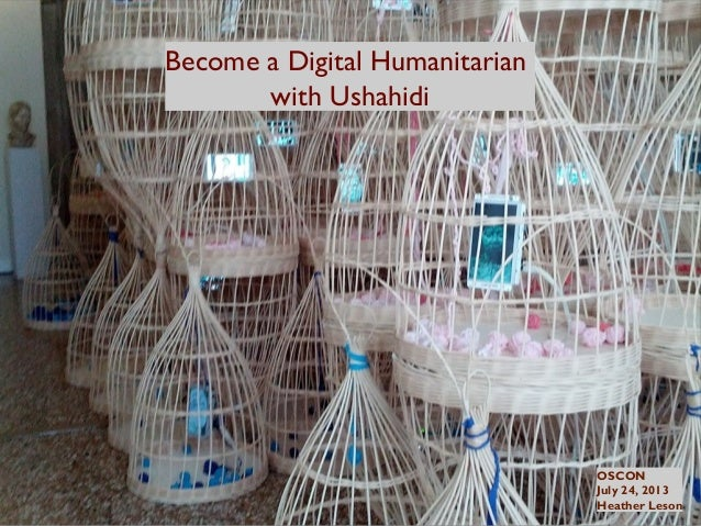 Become a Digital Humanitarian